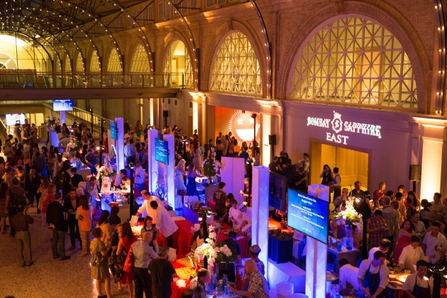 A view of last year's LuckyRice inside the Ferry Building - RICHARD PATTERSON