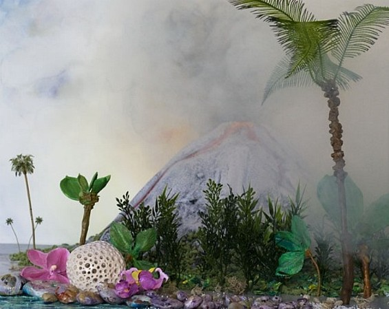 A Volcano Millions of Years Ago  - MARY ANNE KLUTH