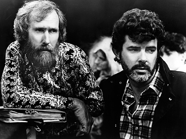 A young Jim Henson and George Lucas. - WIKIMEDIA