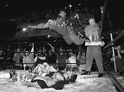 PAUL  TRAPANI - A yuletide Incredibly Strange Wrestling.