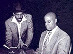 Act Up: Fred Pitts (as Buntu) and David - Stewart (Bansi) do credible, if not urgent, - work.