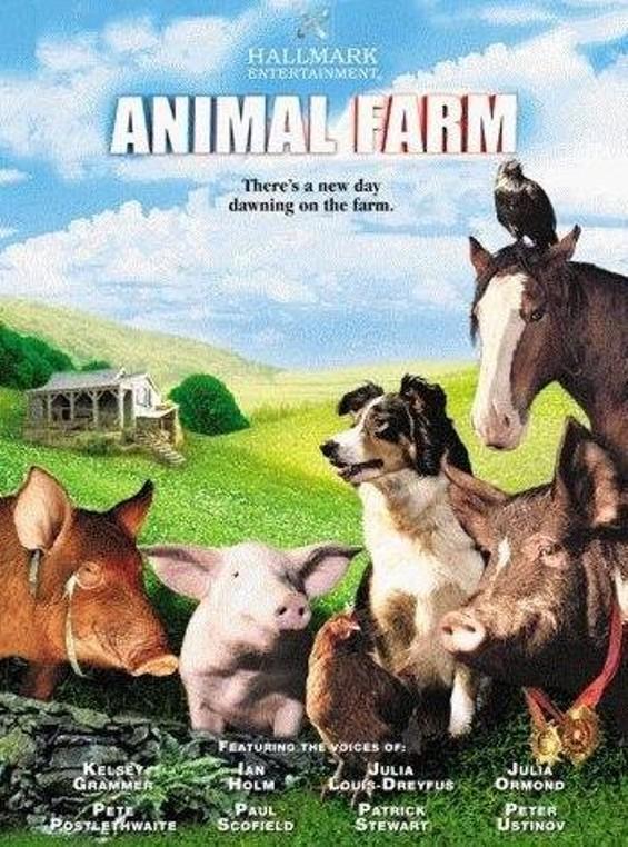 the animal revolution in animal farm a movie by john stephenson