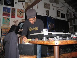Adam Tadesse of Revival Sound System.