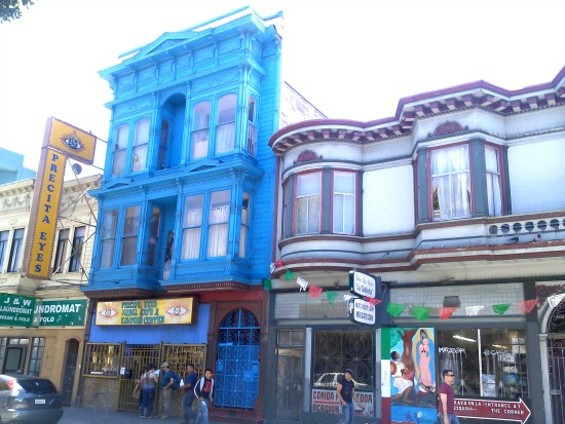 Adding color to the drab sky of SF. - JUAN DE ANDA/SF WEEKLY