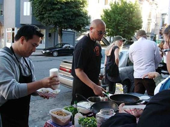 Adobo Hobo at Fabric8's Street Food Fridays. - TAMARA PALMER