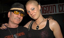 COURTESY OF GORDON OF GIRLS & CORPSES MAGAZINE - Adult entertainer Hollie Stevens, best known for her clown porn, was diagnosed with cancer in 2011.