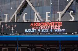 Aerosmith at Oracle Arena
