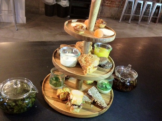 Afternoon tea for two at Craftsman and Wolves. - TAMARA PALMER