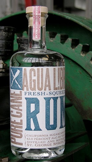 Agua Libre Fresh Squeezed unaged rum. - ST. GEORGE SPIRITS