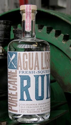 Agua Libre Fresh Squeezed unaged rum. - ST. GEORGE SPIRITS