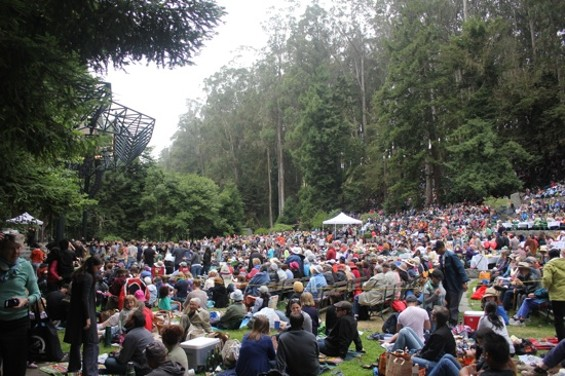 Ahhh, free concerts at Stern Grove.
