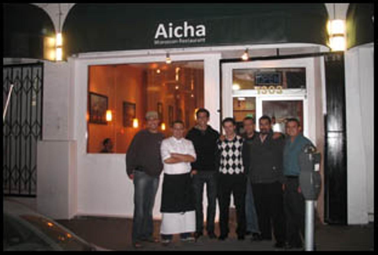 Aicha moroccan cuisine nob hill russian hill fisherman for Aicha moroccan cuisine san francisco