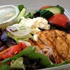 Airport Report: Greek Salad from Napa Farms Market