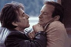 ROB  MCEWAN - Al Pacino does what we'd all like to do to Robin - Williams.