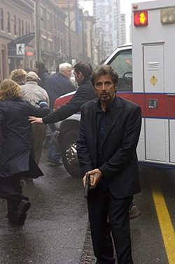 Al Pacino plays a world-weary forensic psychiatrist oppressed by his past.