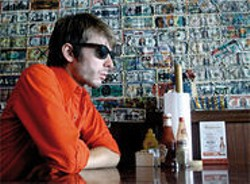 Alex Kapranos eats everything but his words.