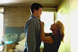 Alienated teen and pathological grandmother: James Frecheville and Jacki Weaver.