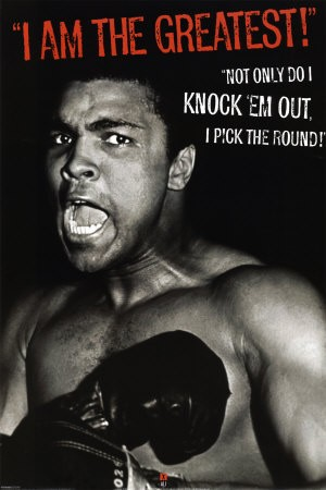 Ali's a good fighter inside and outside the ring