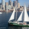 All Aboard: Greenpeace Ship, Rainbow Warrior, Docks in San Francisco