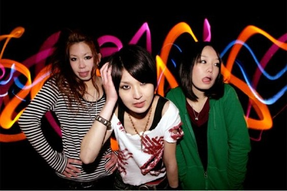 All-girl J-punk trio JinnyOops! performs Saturday at the Pagoda stage in Japantown