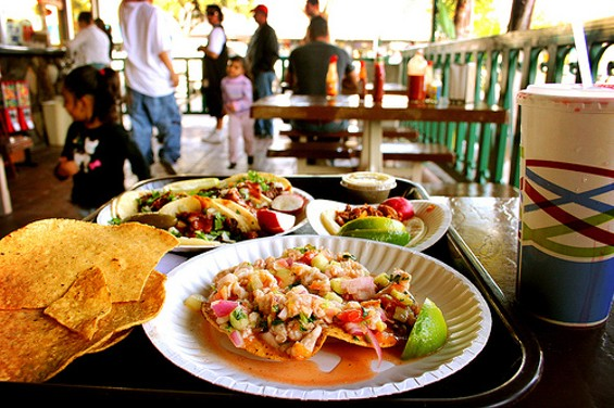All the tostadas are pretty much a delight, though we're particularly fond of the pulpo. - GWEN/FLICKR