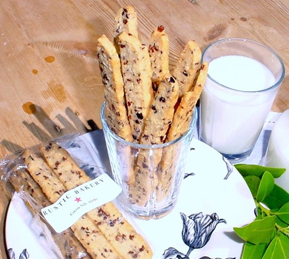 Almond & Cacao Sticks. - RUSTIC BAKERY