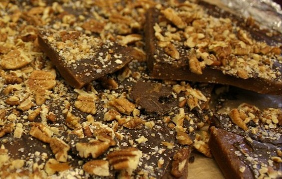Almond butter toffee - OBSESSION CONFECTION DISORDER