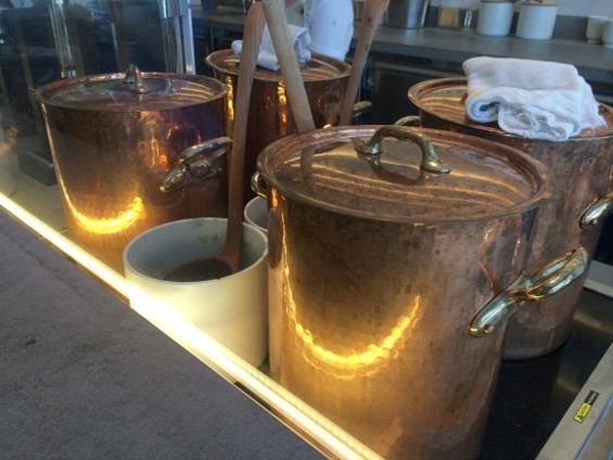 Along with warm woolen mittens and travertine, bright copper kettles are a few of my favorite things. - PETE KANE