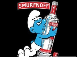 Although, Smurf Berries will probably do funny things to you, too