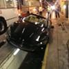 Maserati Drives Into Muni Bus Yard, Wrecks