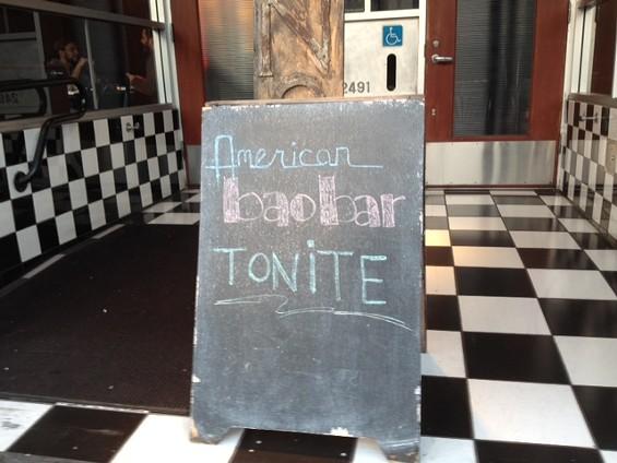 American Bao Bar takes over Nombe on Mondays through June. - TAMARA PALMER