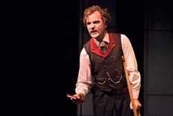 PAK HAN - An actor's actor: Galen Murphy-Hoffman as history's most notorious ad-libber, John Wilkes Booth.