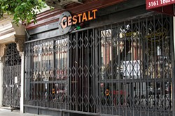 ANDREW DALTON - An undercover pot bust shuttered Gestalt Haus until February.