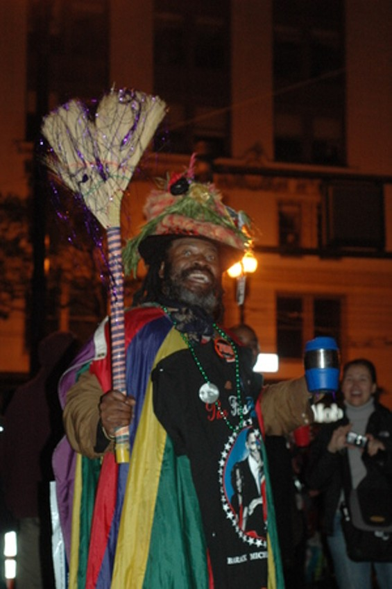 And him! And, since in 2009 we have a black president, why not a black Emperor of the United States and Protector of Mexico? He could be Emperor Norton IV.