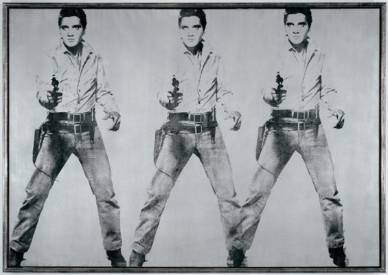 Andy Warhol, Triple Elvis, 1963