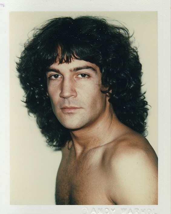 Andy Warhol's Billy Squier, 1982 - THE ANDY WARHOL CENTER FOR THE VISUAL ARTS