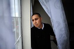 MICHAEL SHORT - Angel Garcia, unable to pay the $450,000 bail, sat in jail for six months before he was acquitted at trial. His family lost their apartment and his kids became ill.