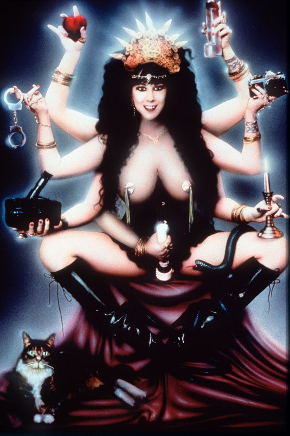 Annie Sprinkle as the Neo Sacred Prostitute - AMY ARDREY