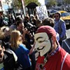 Anonymous Compares BART Protests to Libyan Uprising