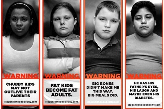 """Anti-child """"obesity"""" campaign or weight bigotry?"""