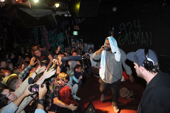 Antwon at Gilman last night. All photos by Matt Saincome