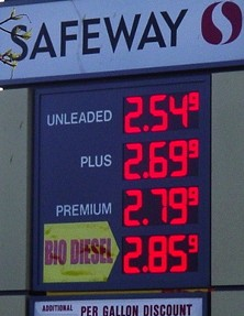 Any savings you had was probably spent sitting in line waiting for the next free pump at Safeway