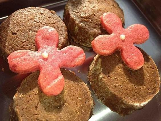 Apiece's beet and chocolate cookies. - TAMARA PALMER