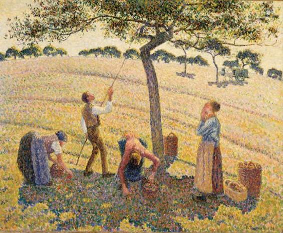 Apple Harvest - CAMILLE PISSARRO