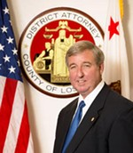 """Approximately Zero"": Los Angeles D.A. Steve Cooley - LOS ANGELES COUNTY DISTRICT ATTORNEY'S OFFICE"