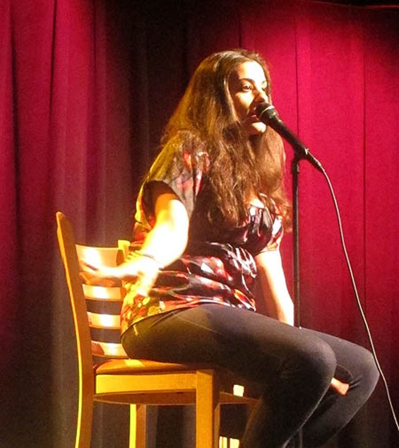 Arab girls get to choose how they want to leave home, Maysoon Zayid says -- in a wedding dress or in a casket.
