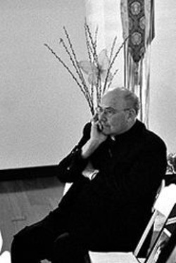 JAMES  SANDERS - Archbishop Levada.