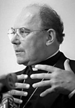 AP WIDE WORLD PHOTOS - Archbishop William J. Levada.