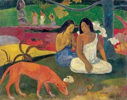 RMN (MUSÉE D'ORSAY)/HERVÉ LEWANDOWSKI - Arearea (Joyousness) by Paul Gauguin.