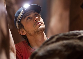 """127 Hours"": James Franco saws his arm off in Danny Boyle's new thriller"
